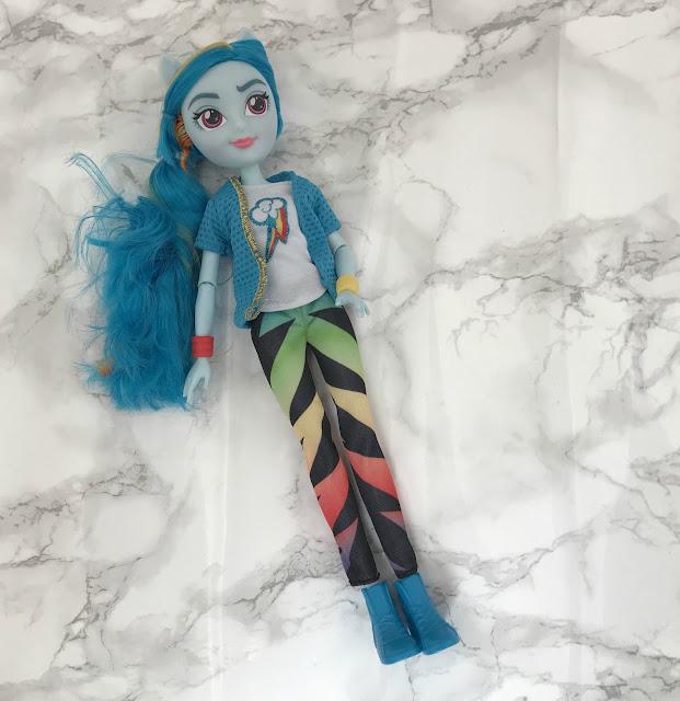 Rainbow Dash Equestrian Girl doll