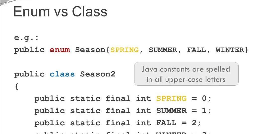 Java Enum Tutorial - 10 Things Java Devs Should Know about Using Enum   Java67