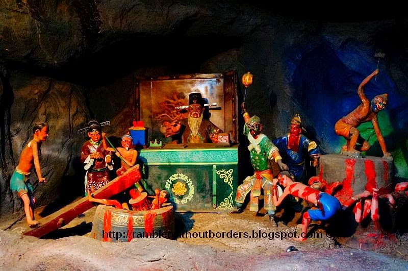 Punishments of the 4th Court, Haw Par Villa, Singapore
