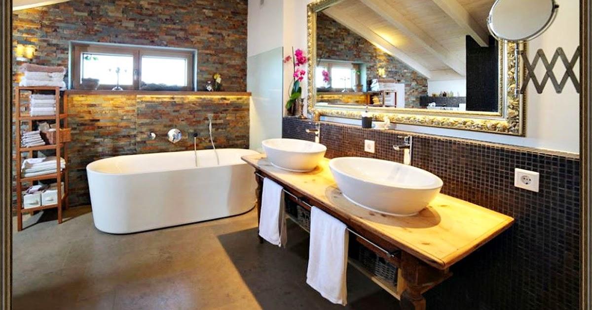Badezimmer Mediterran Modern