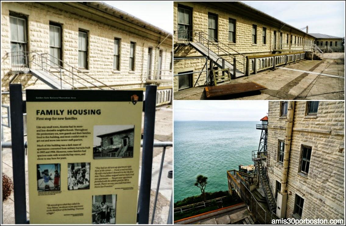 La Prisión de Alcatraz: La Casa de los Guardias