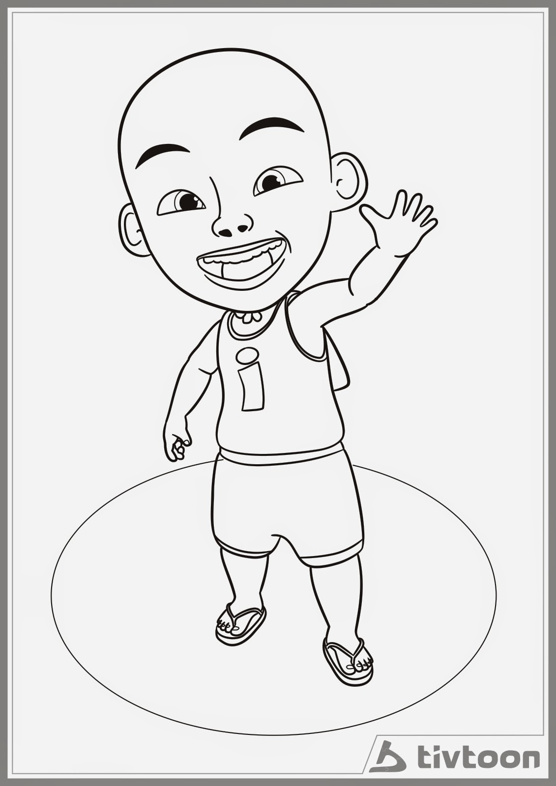 Hd Wallpapers Coloring Pages Upin Dan Ipin Epb Nbnb Info