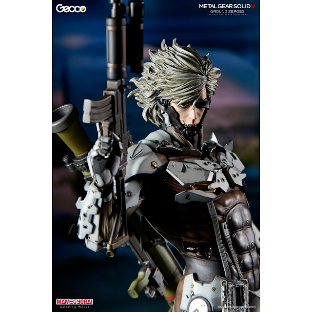 Metal Gear Solid V Ground Zeroes: Raiden White Armor Ver