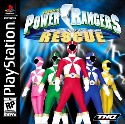 descargar power rangers lightspeed rescued psx mega