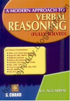 Books to be referred for Quantitative Aptitude, Reasoning, Verbal