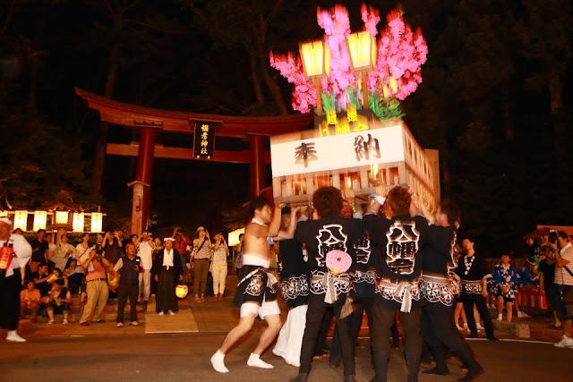Yahiko Toro Matsuri (garden lantern festival), Niigata Pref.