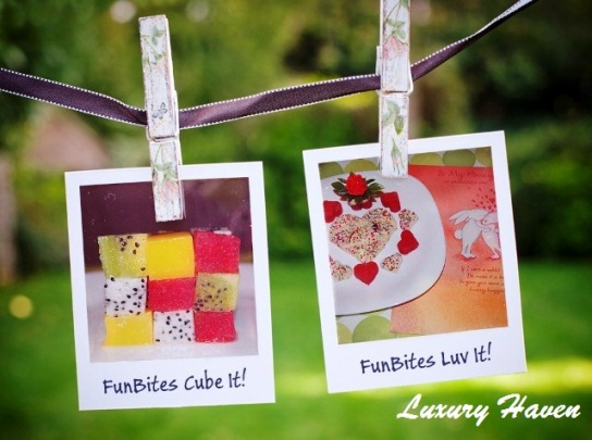 funbites cube luv it, kids recipes