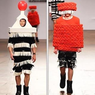 Desfile de modas ridículo