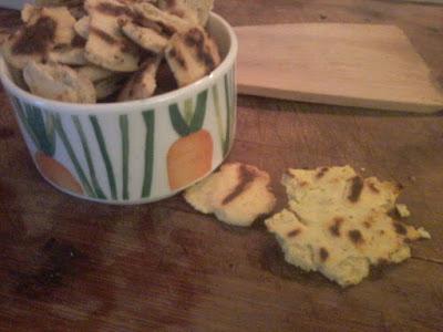 crostini senza glutine vegan farina di ceci