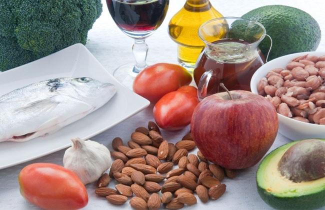 Food lowering cholesterol