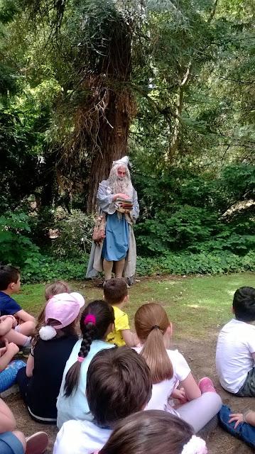 spettacoli teatrali  all' orto botanico per tutta la famiglia