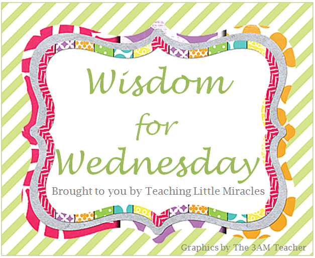 Teaching Little Miracles: Wisdom for Wednesday - Prayer Rights