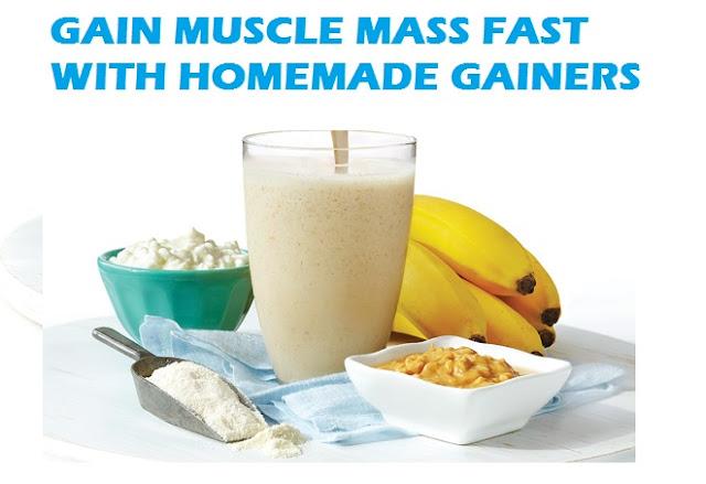 homemade mass gainer
