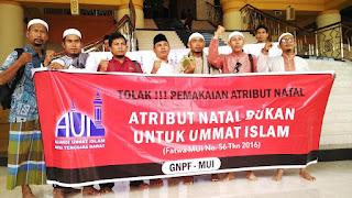 AUI NTB: Atribut Natal Bukan Untuk Umat Islam