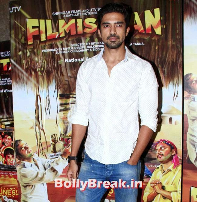 Saqib Saleem, Aditi Rao, Shilpa, Tisca at Filmistaan Movie Special Screening at Lightbox