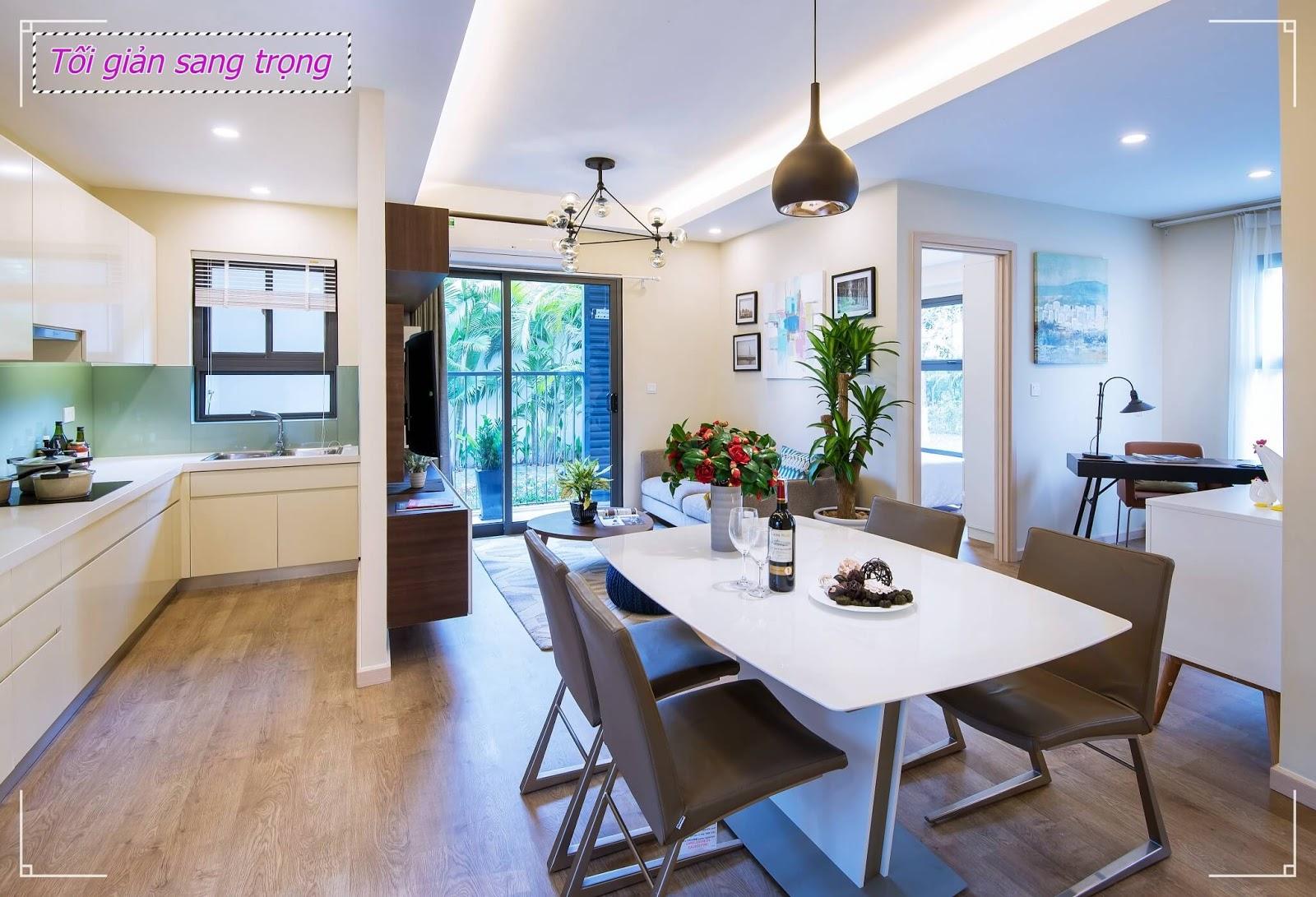 Hình ảnh căn hộ mẫu chung cư Rose Town Ngọc Hồi