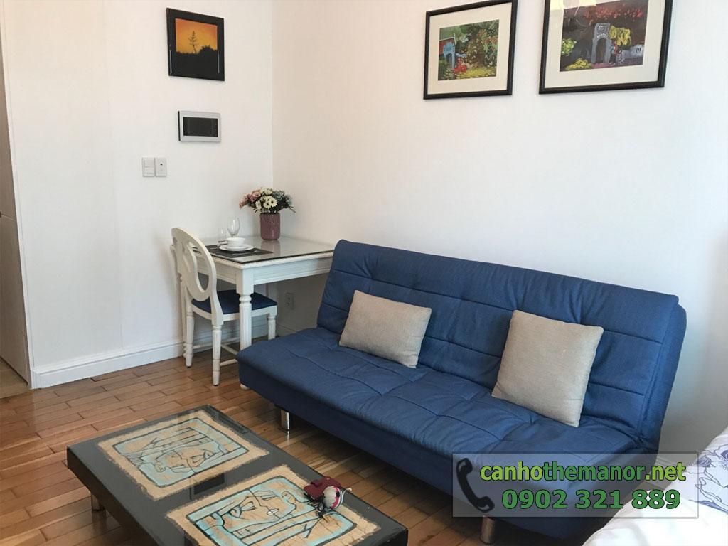 Cho thuê căn hộ 1PN full nội thất tầng 6 - The Manor 2