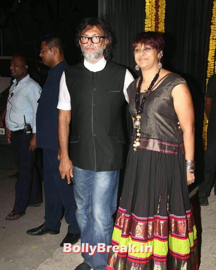 Rakeysh Omprakash, Photos from Amitabh Bachchan's Diwali Bash 2014