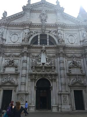 venedik, gezi, tur, tatil, san moise, kilise, katedral, italya,