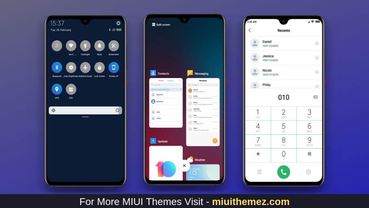 Pure MIUI 10 Theme Download
