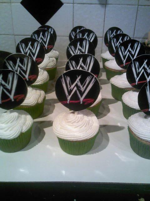 Big Bettie Cakes Wwe Cupcakes