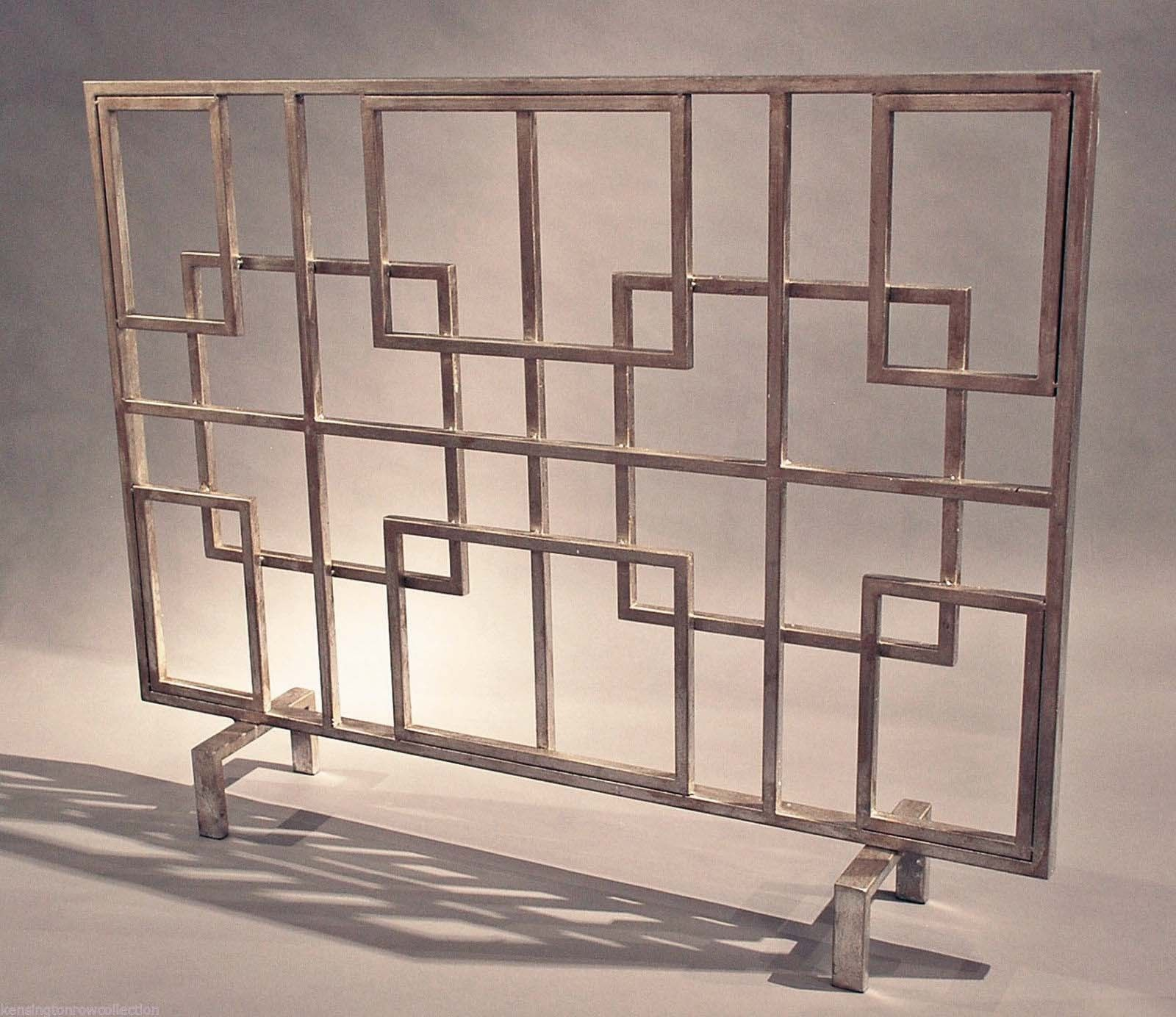 Some Deco and Moderne Fireplace Screens!   Art Deco Resource