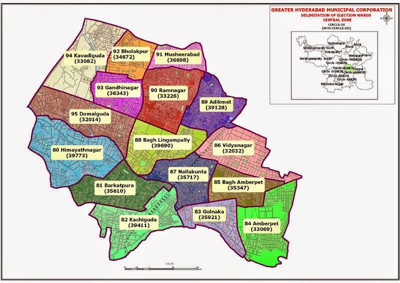 GHMC Circle 9 Map