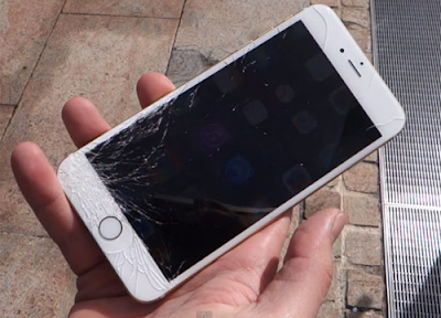 O dau thay mat kinh iPhone 5