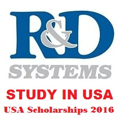 R&D Systems Scholarships 2016-17 USA