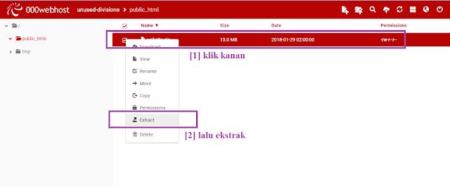 Tutorial Cara Daftar Hosting Gratis Di 000webhost Dan Mengupload File Website ( Mengonlinekan Website di Localhost Ke Hosting )