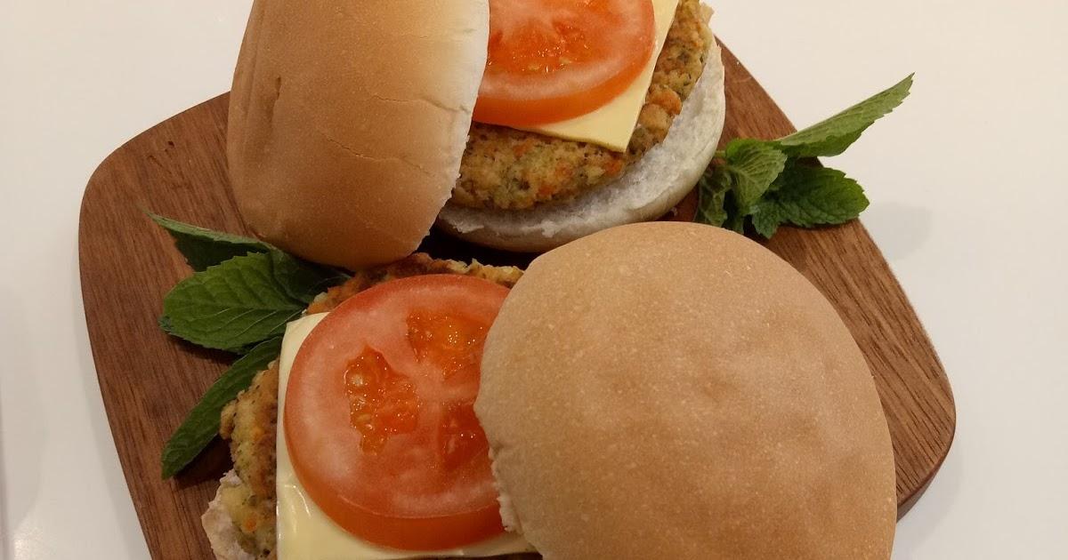 resepi burger cendawan anyar bb Resepi Guna Lebihan Roti Enak dan Mudah