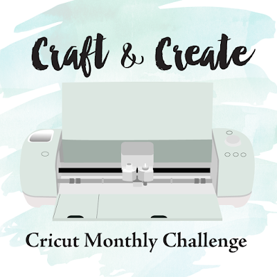 Craft and Create Cricut Monthly Challenge Logo, Christmas Gift Cards Tutorial included with 13 more incredible projects theme , anything Christmas