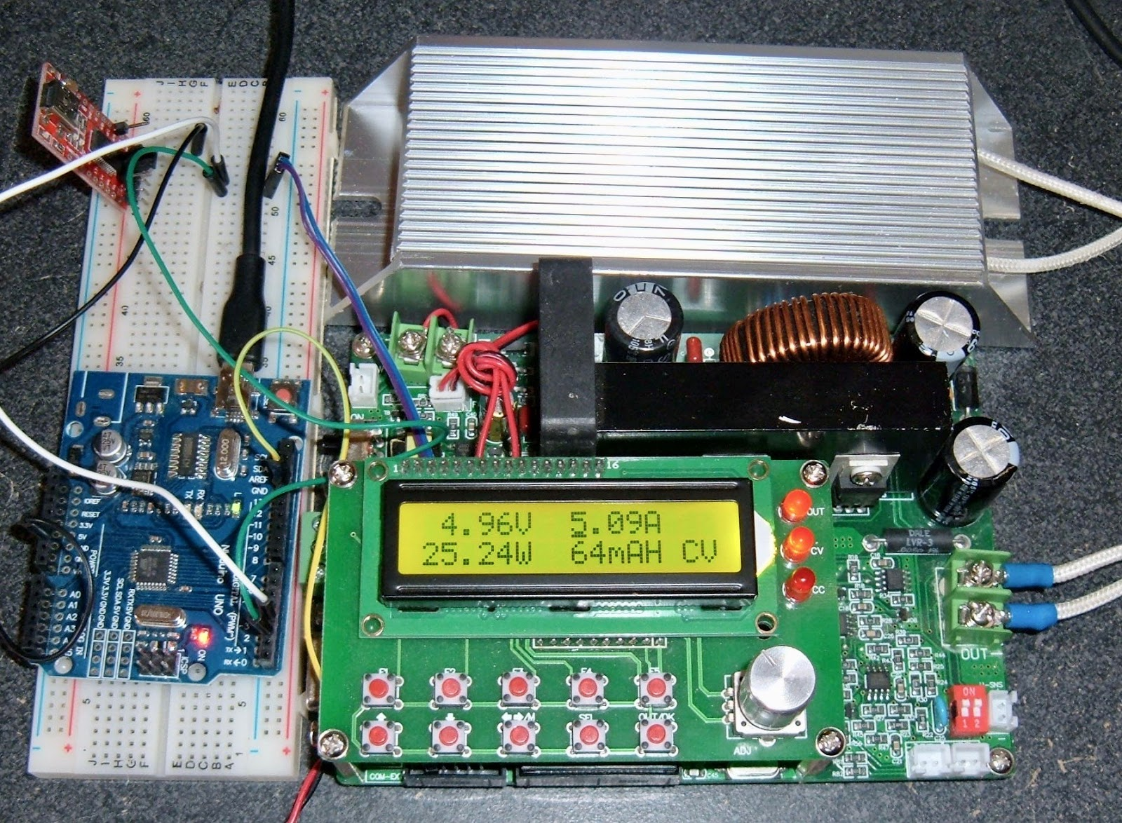 Syonyk's Project Blog: MingHe DPS6015A: Serial Communication