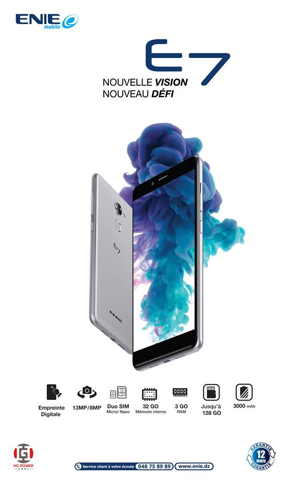 enie e7 smartphone