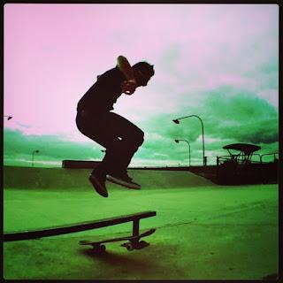 Mark Jansen Skateboarding Adelaide Hippy Jump