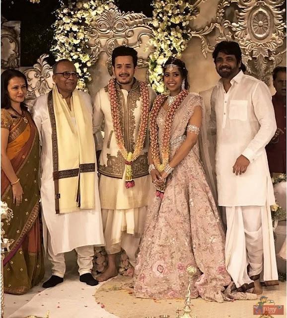 Akhil Akkineni Shriya Bhupal Engagement