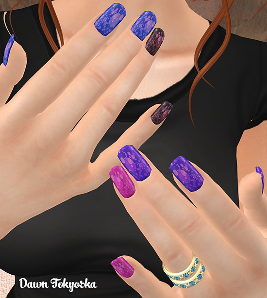 Next We Have The Beauties From Prize 4 Ps Nails Pink Bubbles Huds In Their Usual Belleza Maitreya And Slink Liers All Designs Transpa