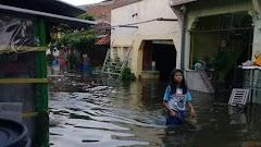 Banjir Rob Terjang Empat Kecamatan di Demak