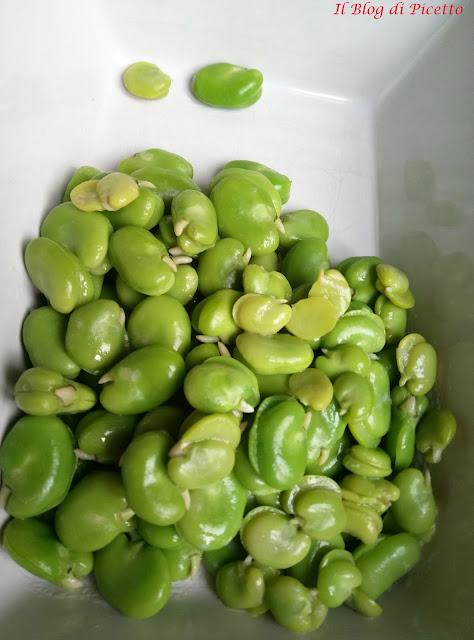 fave fresche, ricetta light, dieta mediterranea, healthy