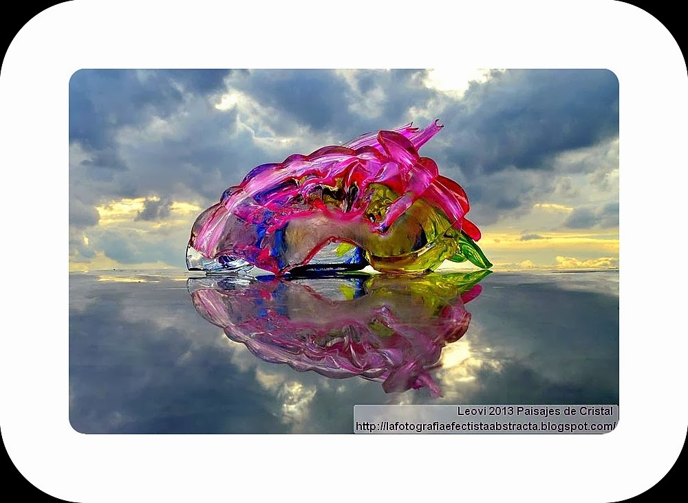 Foto Abstracta 2966 Crystal Landscape 133 El ojo de los sueños sin memoria - El ojo de los Sueños pecado memoria