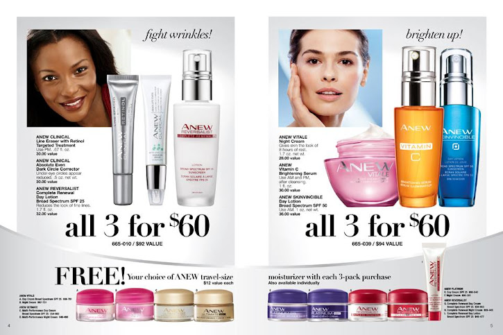 Fight Wrinkles / Brighten Up & Save With This Avon Anew Skincare Treatments