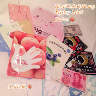 Bits and Bobs of Beauty Mask Bag