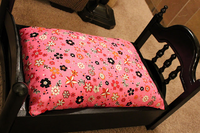Repurposed Chair doll bed http://bec4-beyondthepicketfence.blogspot.com/2011/12/doll-bed.html