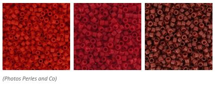 comment associer les couleurs des perles miyuki 11/0 pour un tissage