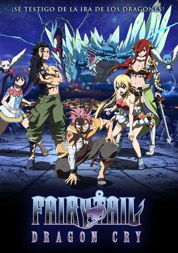 Fairy Tail: Dragon Cry  Castellano   Película   720p   Mega 1 Link 