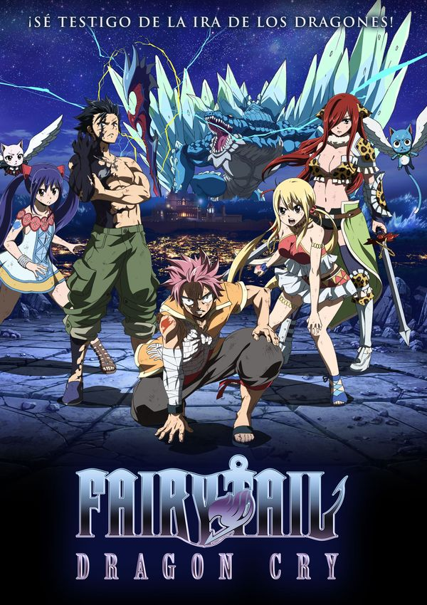 Fairy Tail: Dragon Cry |Castellano| |Película| |720p| |Mega 1 Link|