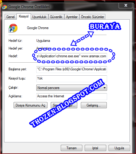 C:\Program Files (X86)\Google\Chrome\Application\Chrome Exe