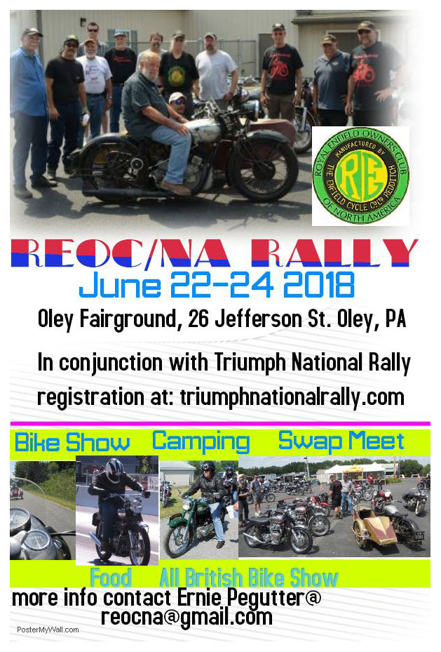 Rally poster.