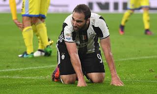 Juventus Higuain problema muscolare Siviglia video champions league