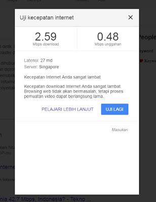 Tips Mengecek Kecepatan Internet Melalui Google Speedtest